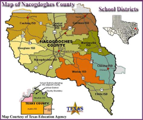 map of nacogdoches county texas nacogdoches county texas school districts