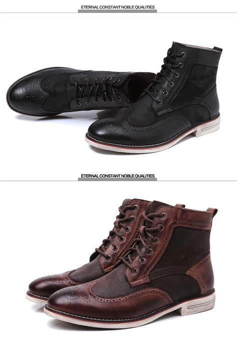 39 45 winter boots fur leather boots fashion ankle