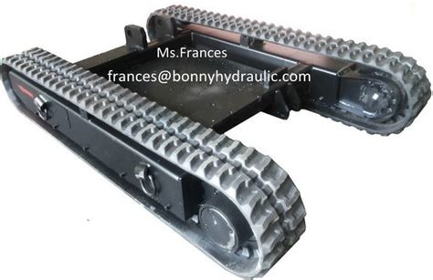 ton rubber crawler undercarriageid product details view  ton rubber crawler