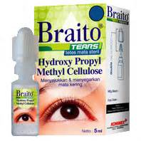 Braito Original Tetes Mata Steril 5 Ml konimex e store braito tears 5 ml