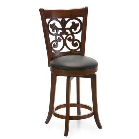 Brown Stools by Brown Counter Stool Home Kitchen Bar Pub Dining Room