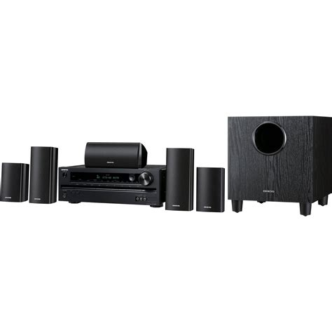 onkyo ht s3400 5 1 home theater system ht s3400 b h photo