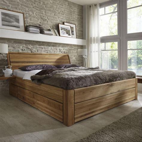 bett 120x200 mit schubladen massivholz schubkastenbett 120x200 easy sleep eiche massiv
