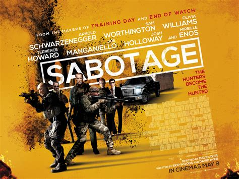 sabotage uk home release date and lenticular cover