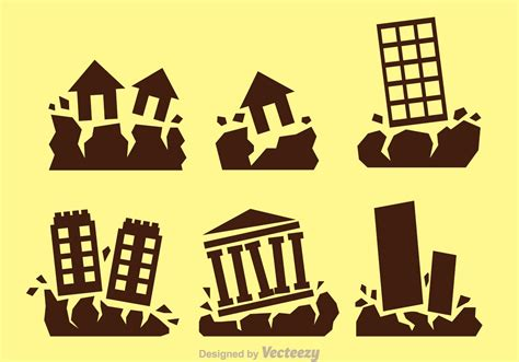 Earthquake Vector | earthquake vector icons download free vector art stock