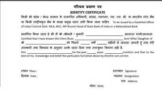 Income Verification Letter bio data amp character certificate required for sbi po