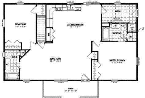 28x48 floor plans certified homes pioneer certified home floor plans