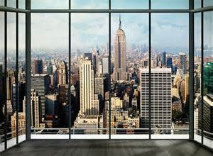 New York City Wall Murals New York City View Wall Mural Wallpaper Online Shop