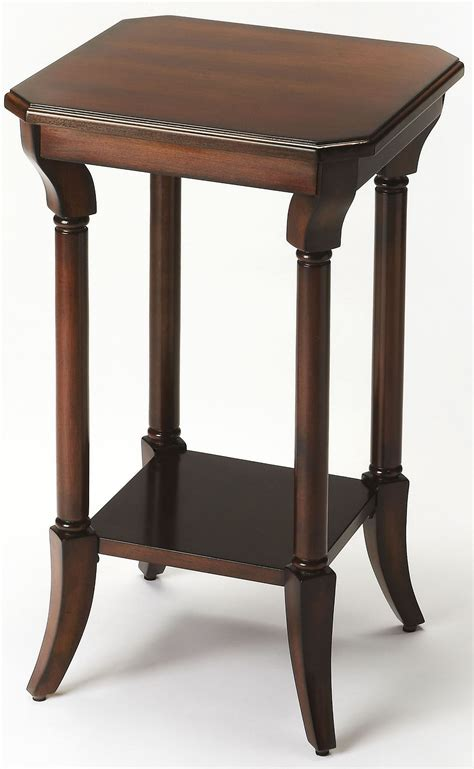 cherry accent table darla plantation cherry accent table 3628024 butler
