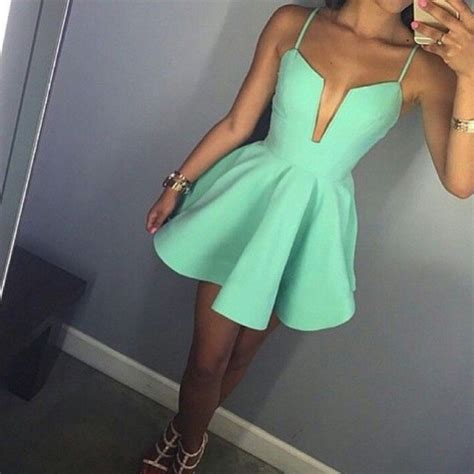 summer dressing style for thin women in printrest dress mint dress pinterest instagram tumblr outfit