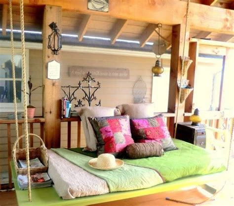 is swinging a good idea bedroom designs romantic swinging bed idea for the porch