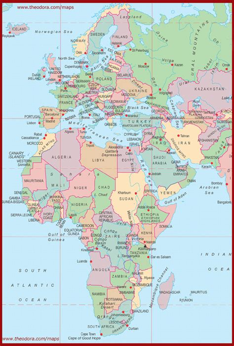map of europe and middle east map of europe and africa