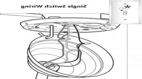 hton bay ceiling fan light kit wiring diagram 28 images