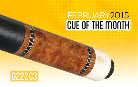 mcdermott announces free pool cue giveaway for february 2015 billiard greg forever - Pool Cue Giveaway