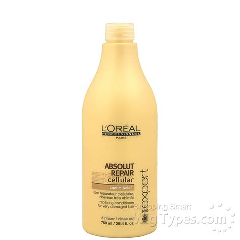 Conditioner Loreal Absolut Repair Besar loreal professional absolut repair cellular conditioner 25 4oz wigtypes