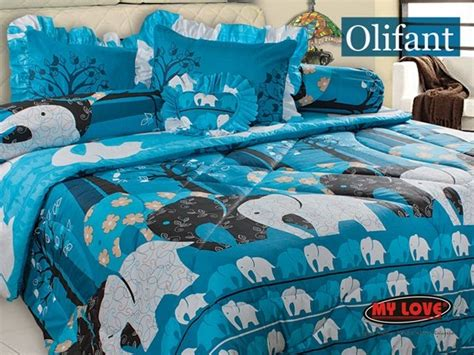 Bedcover Selimut Quilting Set 2 Sarung Bantal Size 230x250cm 30 bedcover my hijabbio