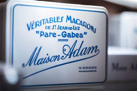maison adam biarritz macarons g 226 teaux basques