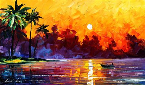 watercolor tattoo españa painted palm tree sunset mural images