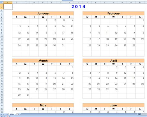 printable calendar 2014 one month per page 2014 calendar 1 month per page autos post