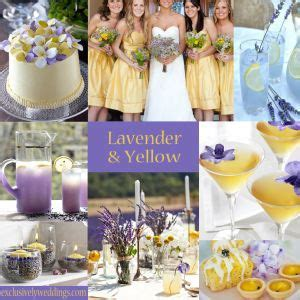 49 best images about Purple & Yellow Wedding Decor on