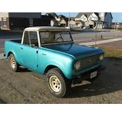 My 1963 International Scout Model 80  Eds Stories