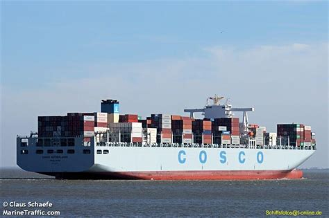 ais netherlands picture of cosco netherlands ais marine traffic