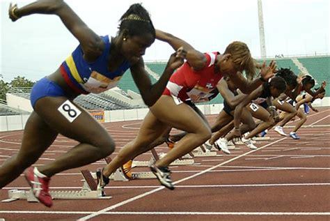 que carrera tiene mas salida atletismo quot la fisica en el atletismo quot