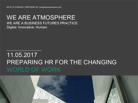 prepare for the world of work ppt video atmosphere preparing hr for the changing world of work