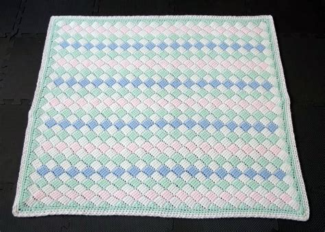 Baby Blanket Dimensions Crochet by Tunisian Crochet Baby Blanket Size A Photo On