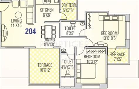 4 Schlafzimmer Home Floor Pläne by Runwal Snehanjali In Baner Pune Price Location Map