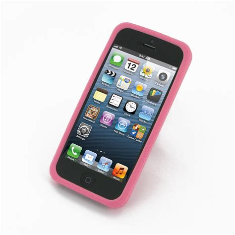 Housing Casing Fullset Apple Iphone 5s Best Quality iphone 5 iphone 5s luxury silicone soft pink