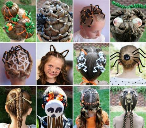 halloween hairstyles for toddlers hair accessory halloween hairstyles kids fashion cool
