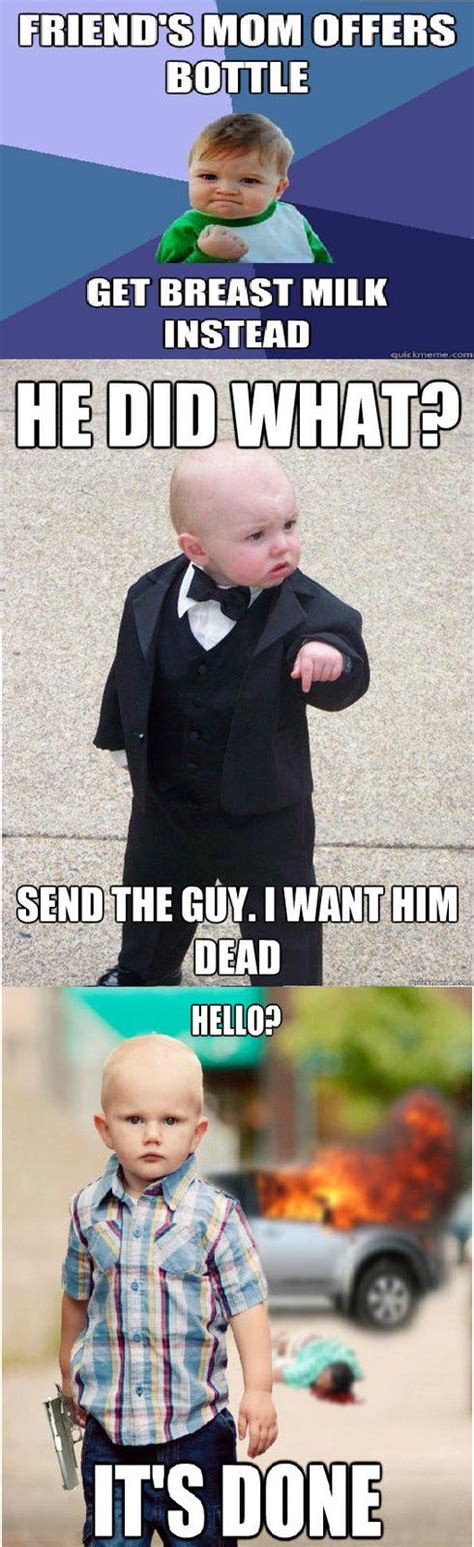 Godfather Baby Meme - baby godfather meme memes