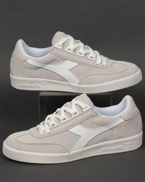 Diadora Clasic Original diadora b original suede trainers white white borg shoes mens