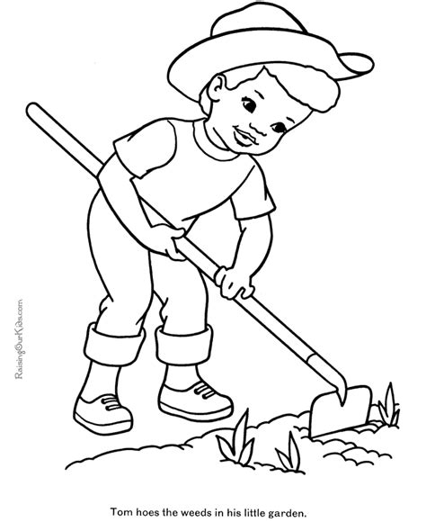 farmer coloring pages farm coloring pages for az coloring pages
