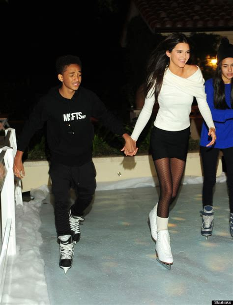 Smoking Weed In Backyard Kendall Jenner Jaden Smith Hold Hands While Ice Skating