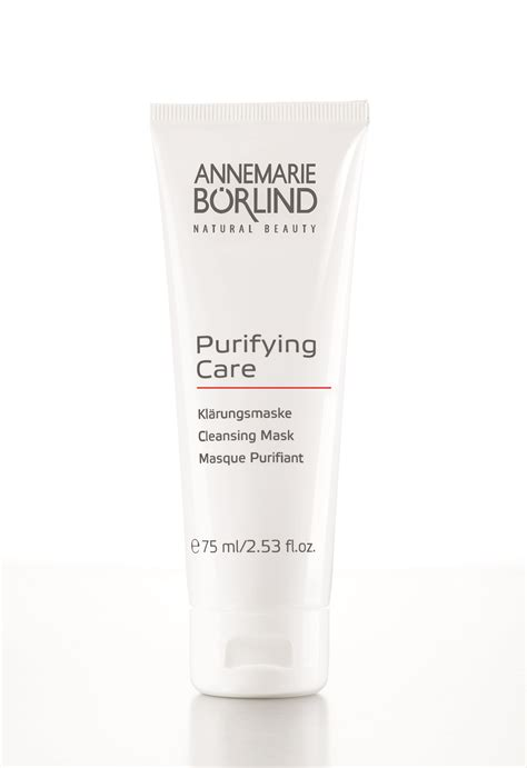 Detox System Purifying Mask by Annemarie Borlind Purifying Care Series Smhp Store