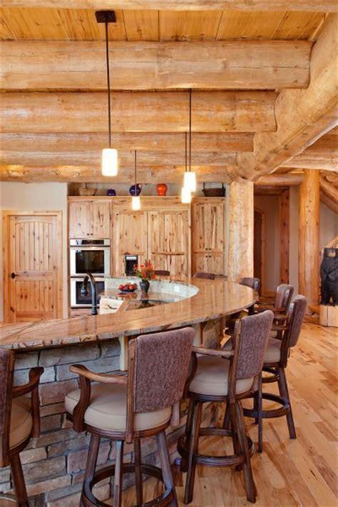 Log Cabin Kitchen Islands For Sale Timber Frame Homes Cabin And Bar On