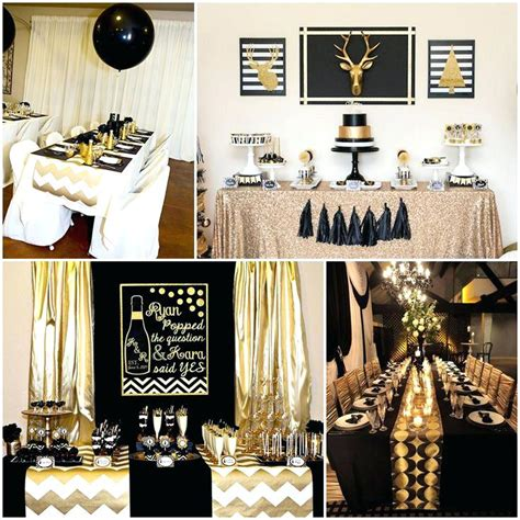 black and gold table decorations thelt co
