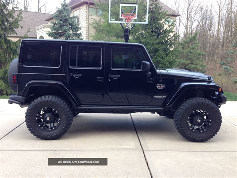 Jeep 4 Door Price Black Jeep Wrangler 4 Door Car Goals