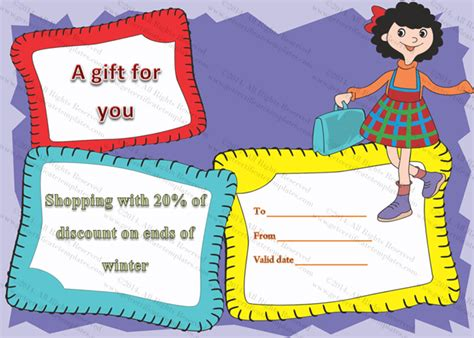 Shopping Certificate Template Jazzy Shopping Gift Certificate Template
