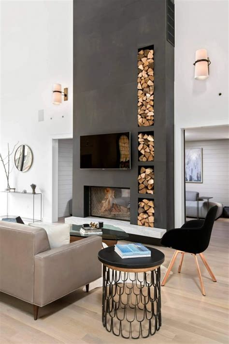 for arranging the furniture around a fireplace