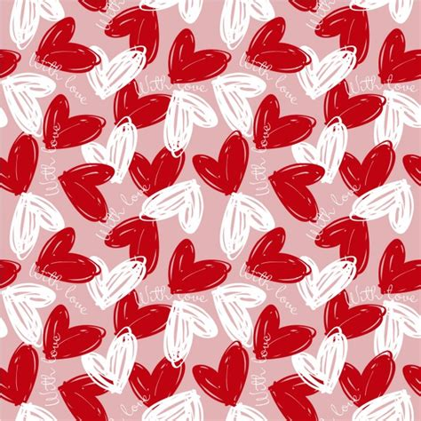 love pattern image pattern with love vector free download