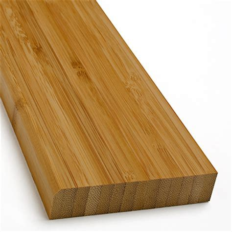 Plyboo Baseboard, Natural Edge Grain Bamboo Flooring