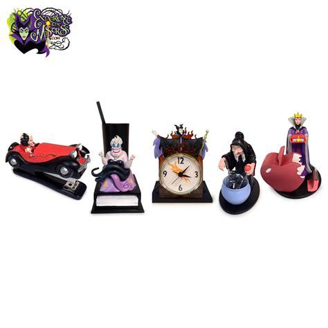disney office desk accessories disney parks catalogvillains 5 desk accessories
