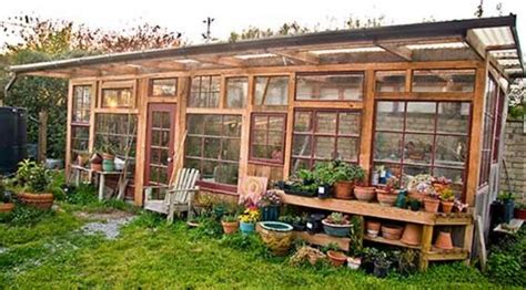 window green house the art of up cycling diy greenhouses build a green house from windows doors and a