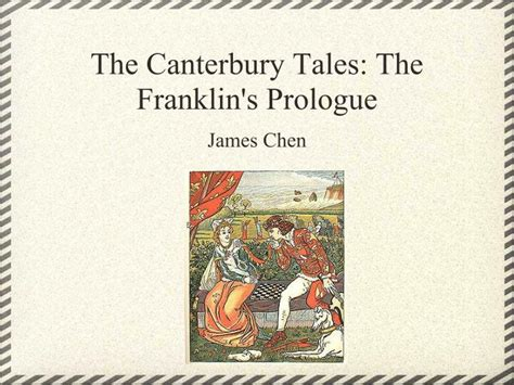 the prologue to the canterbury tales the romaunt of the and minor poems classic reprint books ppt the canterbury tales the franklin s prologue