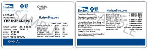 omnia health plans horizon blue cross blue shield of new