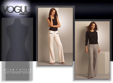 jeans pattern vogue vogue patterns 1051 misses pants