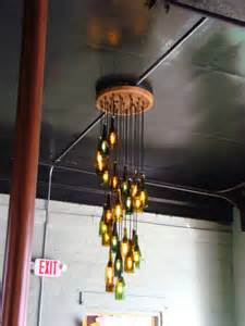 Diy Bottle Chandelier 20 Bright Ideas Diy Wine Bottle Chandeliers